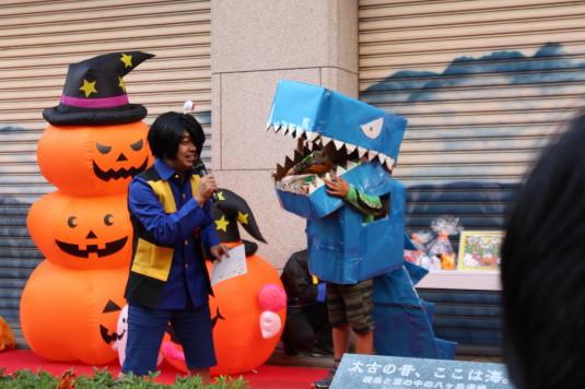 甲府ハロウィン 仮装コンテスト 恐竜