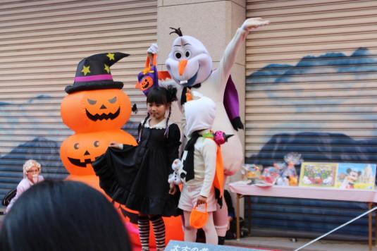 甲府ハロウィン 仮装コンテスト かぶりもの