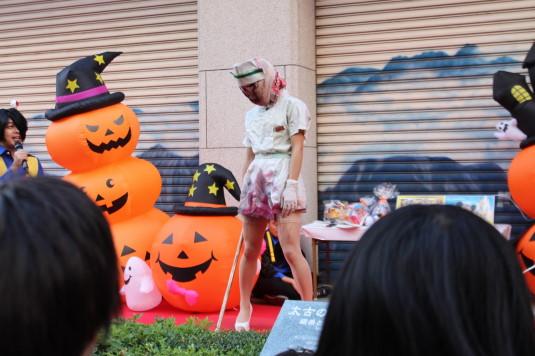 甲府ハロウィン 仮装コンテスト リアルゾンビ