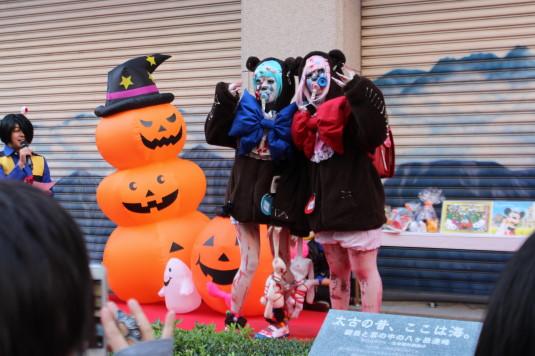 甲府ハロウィン 仮装コンテスト くまゾンビ