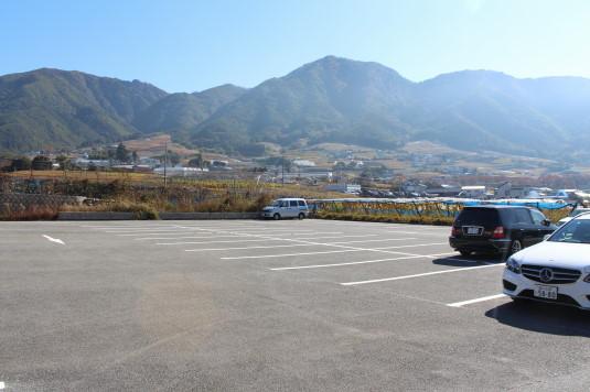 新酒ワインまつり 駐車場
