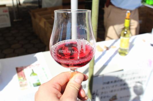 新酒ワインまつり 赤ワイン