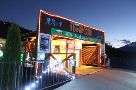 イルミ 花の都公園 入口