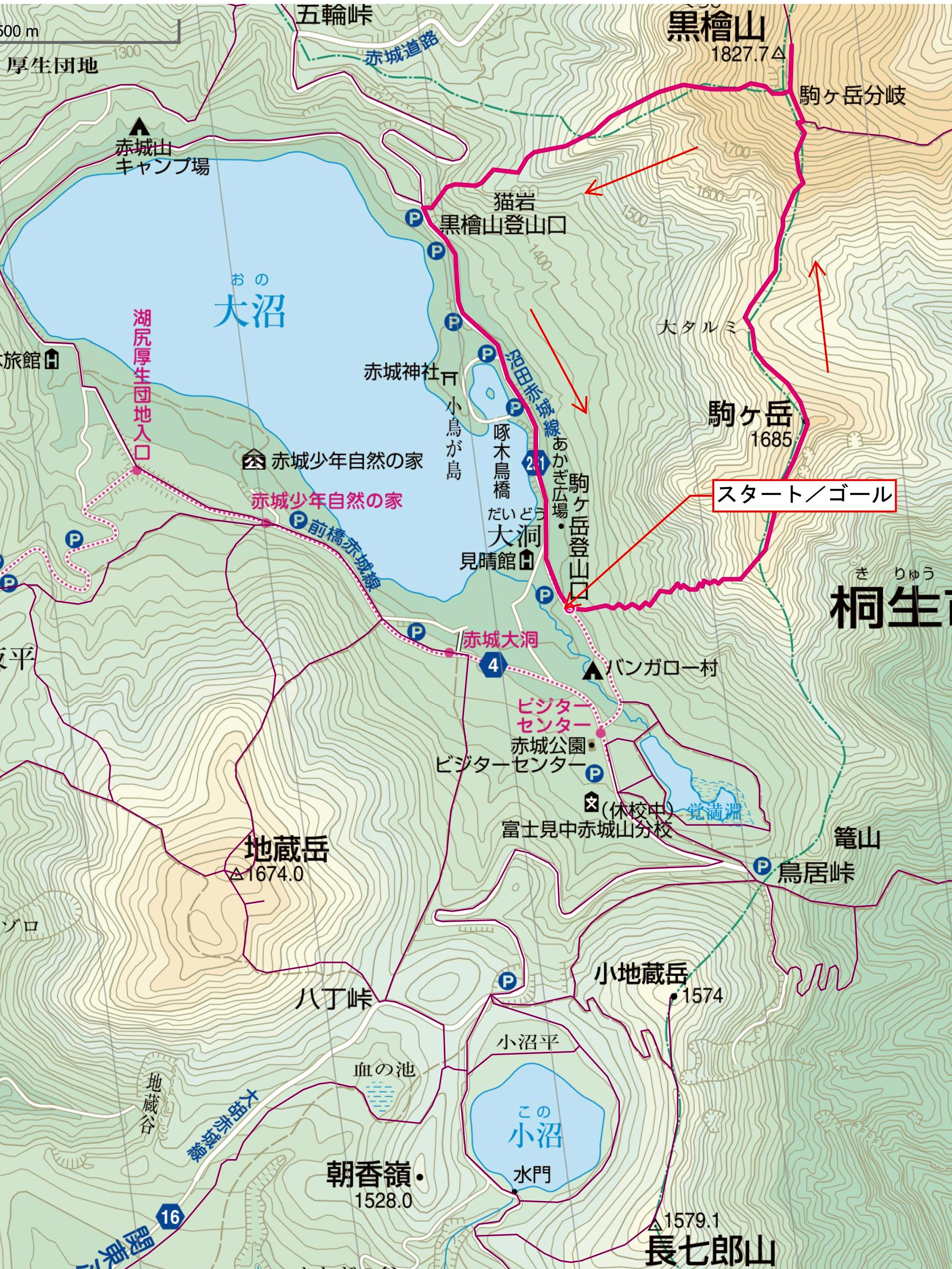1-[日程未定] 駒ヶ岳登山口~駒ヶ岳登山口 - ヤマレコ_01