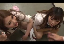 【M男】パンツ覗きの代償は強制センズリ射精…大森玲菜 君嶋ゆな