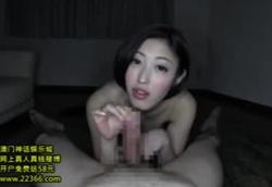 撮り下ろし主観痴女動画・美巨乳お姉さんの淫語責め手コキ!水野朝陽