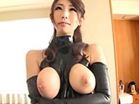 篠田あゆみ 魅惑のIカップ。高級ボンテージコールガール!