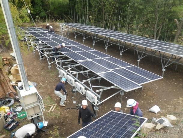 太陽光設置 (2)