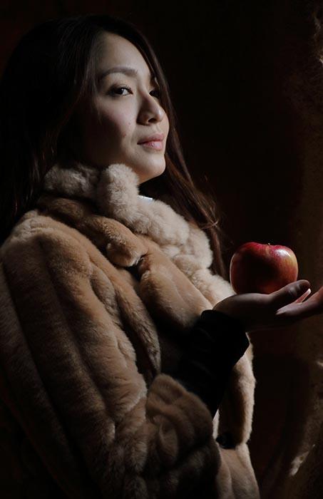 柚花:りんご1