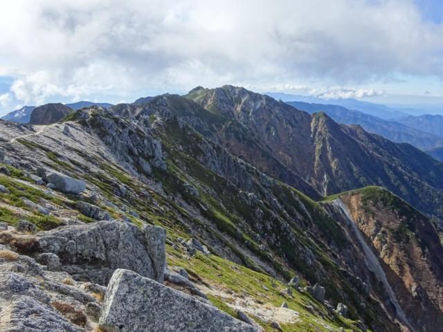 10月17日 次は南駒ケ岳へ