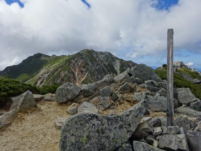 10月17日 赤椰岳から南駒