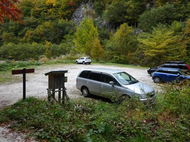 10月17日 駐車場は30台分くらい