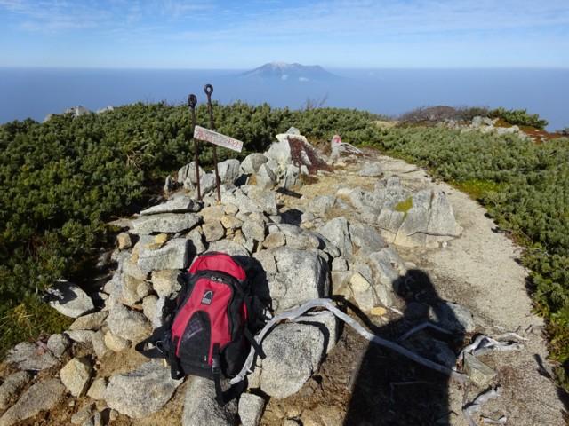 10月24日 木曽前岳に寄り道