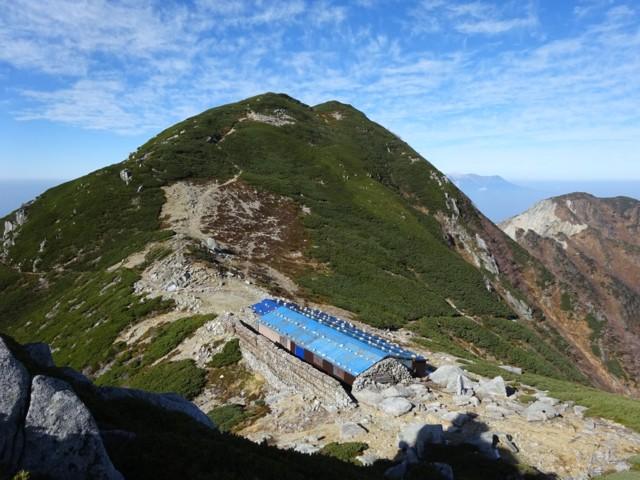 10月24日 玉乃窪山荘と木曽前岳