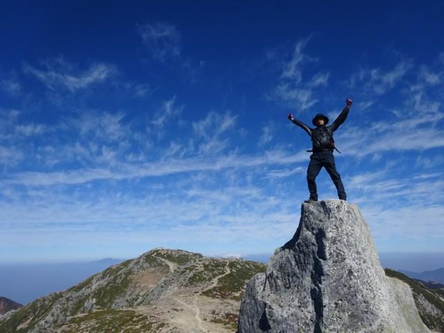 10月24日 木曽駒をバックにお立ち台