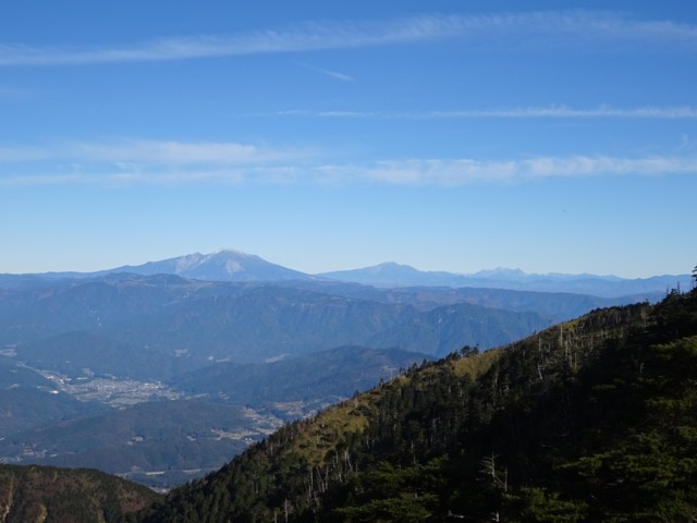 11月1日 御嶽山,乗鞍岳,穂高岳
