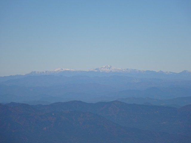 11月1日 白山と別山