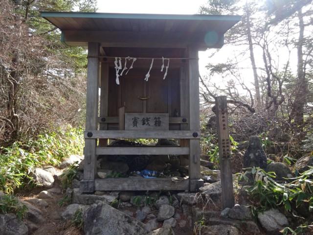 11月1日 恵那神社本社(奥宮)