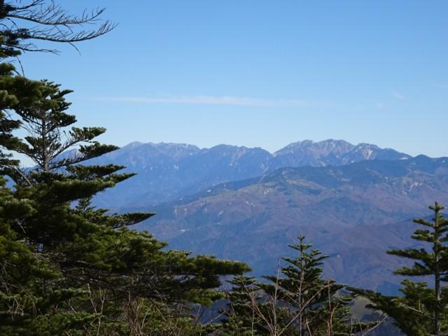 11月1日 木曽駒ケ岳から南駒ケ岳