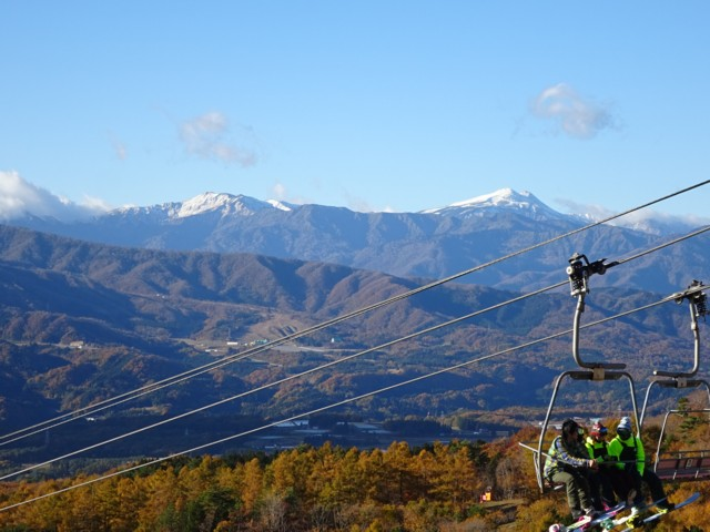 11月3日 白山と別山