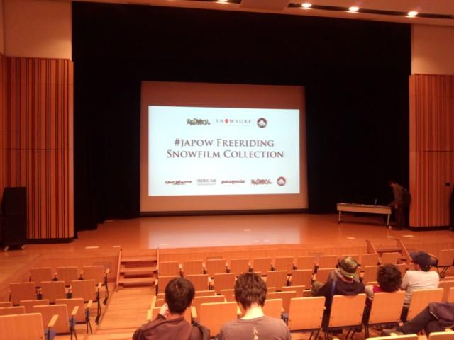 11月3日 SNOW FILM上映会@刈谷