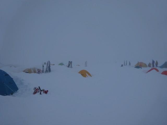 11月28日 自分のテント
