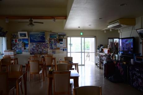 ペンション最南端 ロビー兼食堂