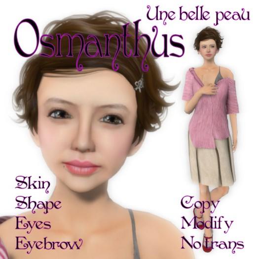 Osmanthus skin panel 525