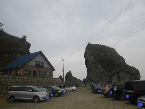 2015 琴平荘 駐車場