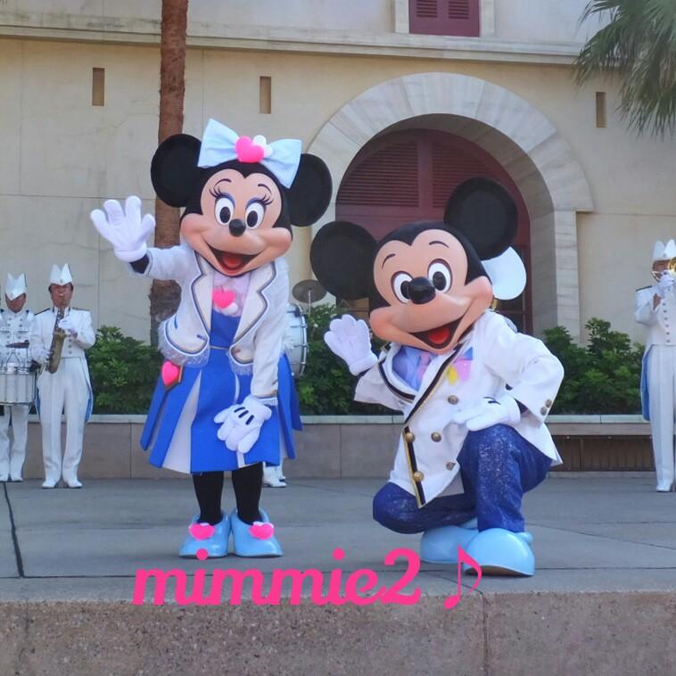 お誕生日おめでとう(ウェルカムグリ☆ミッキー&ミニー)