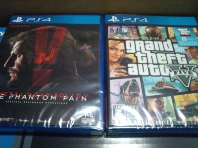 PS4本体1TB買った4