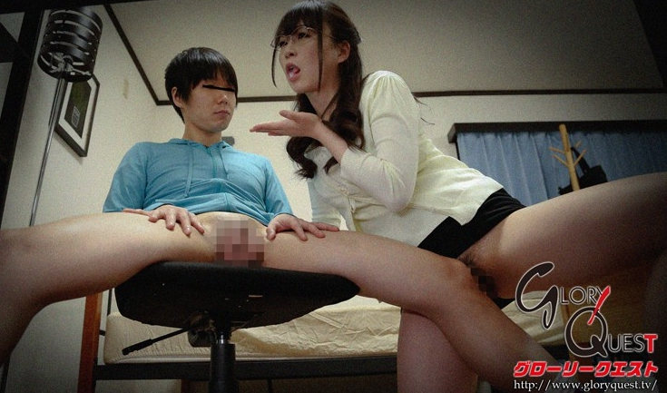 思春期チ○ポに興奮する猥褻女家庭教師がした事の全記録 羽月希の脚フェチDVD画像1
