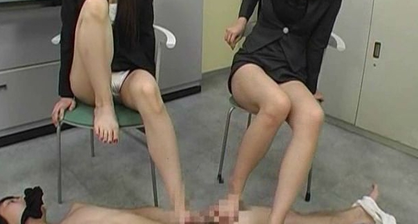 女教師美脚スパルタ指導の脚フェチDVD画像6