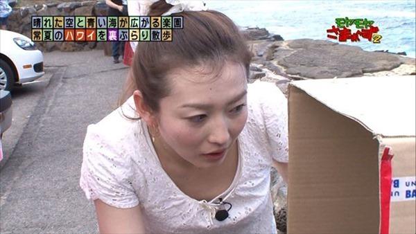 狩野恵里アナのセクシーショット画像12