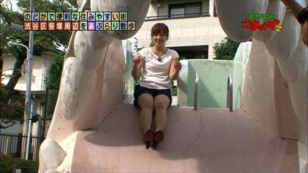狩野恵里アナのセクシーショット画像16