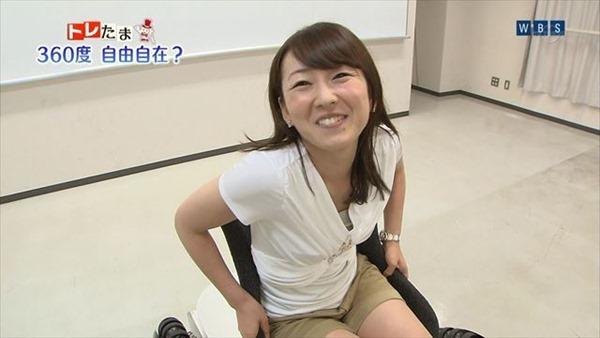 狩野恵里アナのセクシーショット画像5