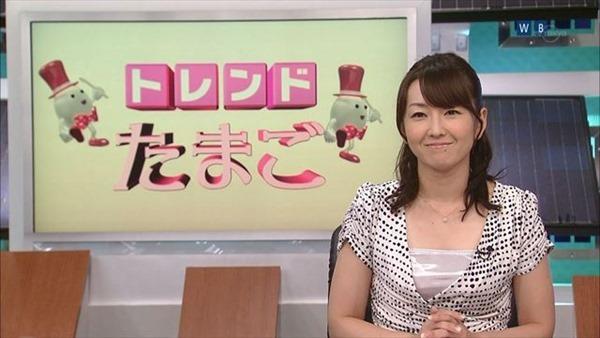 狩野恵里アナのセクシーショット画像6