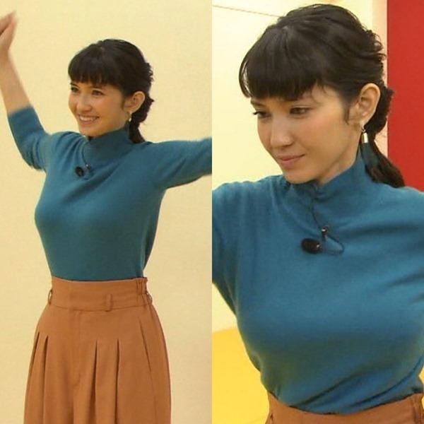 市川紗椰の着衣巨乳エロ画像7