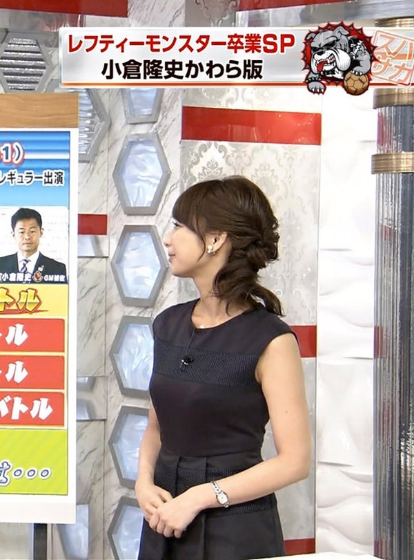 巨乳アイドル並みTBS宇垣美里アナ着衣エロ画像15