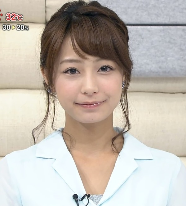TBS宇垣美里アナの巨乳エロ画像19