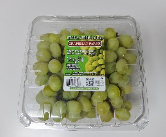 コストコ グレープ シードレス グリーン ブドウ 皮