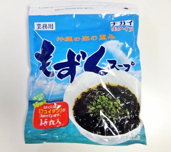 コストコ ◆ もずくスープ 15袋入 899円也
