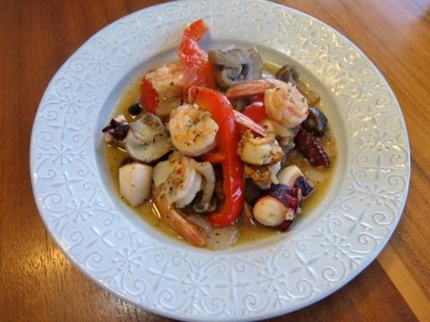 コストコ シーフード アヒージョ Seafood Ajillo
