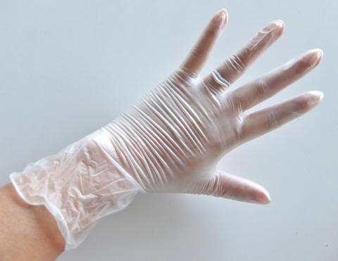コストコ グローブ ビニール手袋 極薄