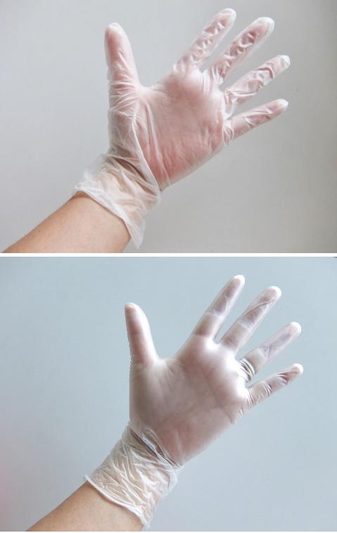 コストコ オカモトグローブ ビニール手袋 788円也 極薄