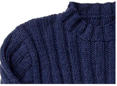 1094ピエロ純毛極太2メンズセーター部分