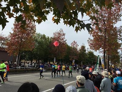 2015富山マラソン沿道応援