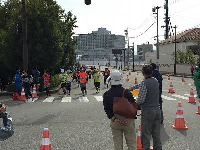 2015富山マラソン最終コーナー