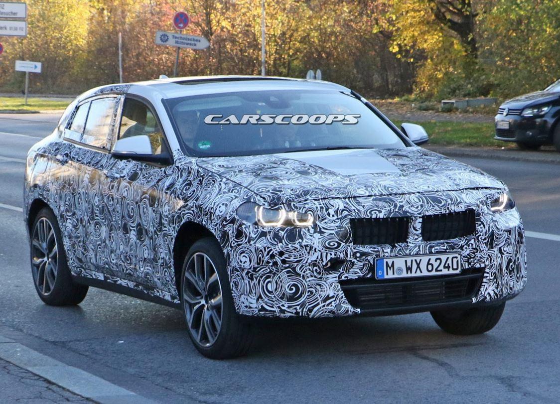 BMW X2 spyshot 4