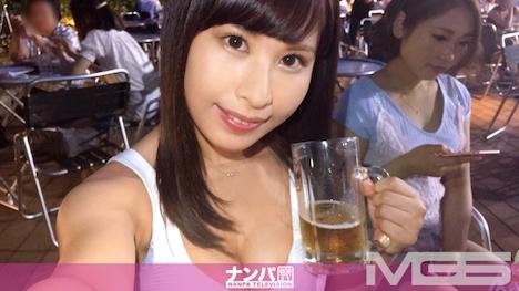 【シロウトTV】ビアガーデンナンパ 02 in 新宿 チームN ユウナ 23歳 OL 1